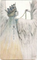 Illustration By S. Solomko - Princess Mary The White Swan - Le Cygne Blanc - 1633 - Circulated In Estonia Tallinn 1929 - Solomko, S.