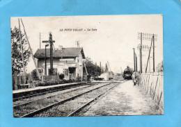 Petit Palais-la Gare -arrivée Du Train -animée -a Voyagé -édition  Silvestre - Autres Communes