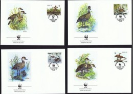 Bahamas 1988 Yvertn° FDC 659-62 (°) Used Cote Des Timbres 11 Euro Oiseaux Vogels Birds - Bahamas (1973-...)