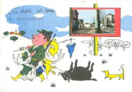 CPSM          La Chasse Est Bonne  à Montestruc        P  2534 - Otros Municipios