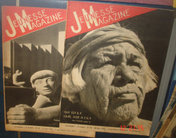 JEUNESSE MAGAZINE.3eme Année.N°21 Et 22 - 1900 - 1949