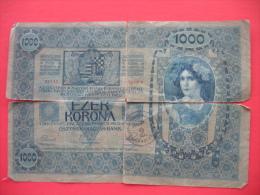 1000 KRONEN 1902 (Zagreb) - Jugoslawien