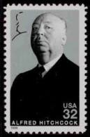 1998 USA Alfred Hitchcock Stamp #3226 Famous Movie Cinema Film