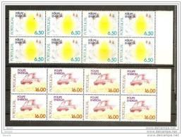 1980 Portogallo Portugal RISPARMIO ENERGIA  ENERGY SAVING 8 Serie Di 2v. MNH** In Blocco - Scienze