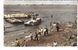 Militaria-Guerre-1939-1945-Arromanches Les-Bains-Port De La Libération-6 Juin 1944-Epaves Et Digue-Port De Débarquement - Oorlog 1939-45