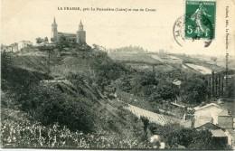 CPA 42 LA FRAIRIE PRES LA PACAUDIERE ET VUE DE CROZET 1909 - La Pacaudiere