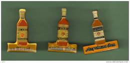 RICARD *** BOUTEILLE *** 3 Pin´s Differents *** (1015) - Boissons