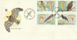 Venda 1983 Migratory Birds FDC - Venda