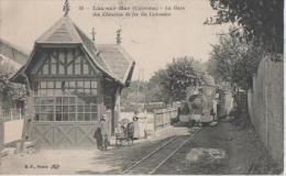 LA GARE ( Du Chemin De Fer Du Calvados ) - Luc Sur Mer
