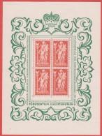 1965 ** (sans Charn., MNH, Postfrish)  Mi  449  Yv  397 ZUM  384 Kleinboogen - Liechtenstein