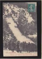 Eaux Bonnes - Concours De Skis - Sauts Devant Le Roi D'espagne Alphonse XIII - Cachet Hotel Continental - Eaux Bonnes