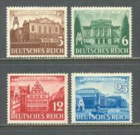 1941 DEUTSCHES REICH LEIPZIG SPRING FAIR MICHEL: 764-767 MNH ** - Deutschland