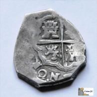 2 Reales  - Felipe III - 1598/1621 - Ohne Zuordnung