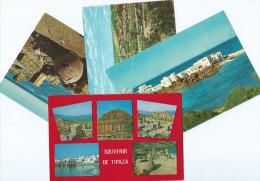 Afrique > Algérie > TIPAZA  -Lot De  4 Cartes Cpm -voir Scan R/V Des 4 Cartes- ETAT= Voir Description* (Ruines Romaines) - Other Cities