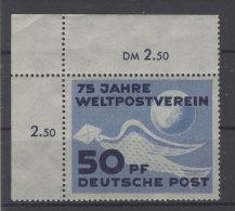 DDR Michel No. 242 ** postfrisch Eckrand