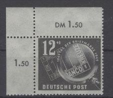 DDR Michel No. 245 ** postfrisch Eckrand