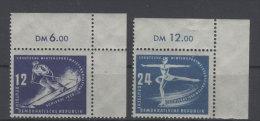 DDR Michel No. 246 - 247 ** postfrisch Eckrand