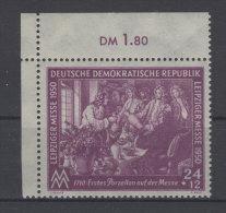 DDR Michel No. 248 ** postfrisch Eckrand