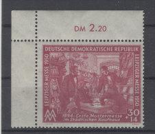 DDR Michel No. 249 ** postfrisch Eckrand