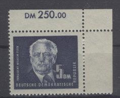DDR Michel No. 255 ** postfrisch Eckrand