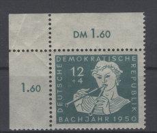 DDR Michel No. 256 ** postfrisch Eckrand / oben gefaltet