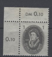 DDR Michel No. 261 ** postfrisch Eckrand