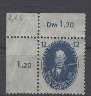 DDR Michel No. 266 ** postfrisch Eckrand