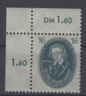 DDR Michel No. 267 ** postfrisch Eckrand