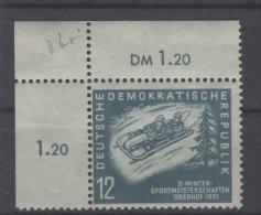 DDR Michel No. 280 ** postfrisch Eckrand