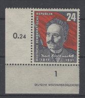 DDR Michel No. 294 ** postfrisch Eckrand