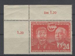 DDR Michel No. 297 ** postfrisch Eckrand / gefaltet