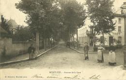 MONTLUEL AVENUE DE LA GARE - Montluel