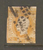 PORTUGAL    Scott  # 18 VG-F USED - Used Stamps