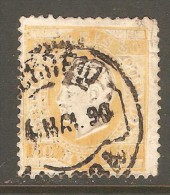 PORTUGAL    Scott  # 44e  F-VF USED - Used Stamps