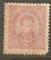 PORTUGAL    Scott  # 66*  F-VF HINGED OG - Unused Stamps