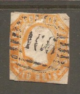 PORTUGAL    Scott  # 13  VG-F USED - Used Stamps