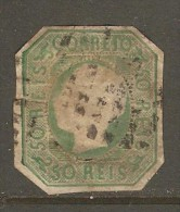PORTUGAL    Scott  # 15  USED FAULTS - Used Stamps