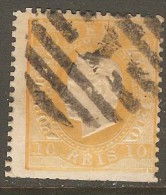 PORTUGAL    Scott  # 35  USED FAULTS - Used Stamps