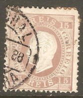 PORTUGAL    Scott  # 38  F-VF USED - Used Stamps