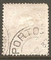 PORTUGAL    Scott  # 45e  VF USED - Used Stamps