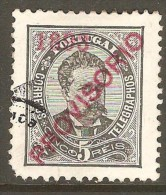 PORTUGAL    Scott  # 88  VF USED - 1892-1898 : D.Carlos I