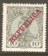 PORTUGAL    Scott  # 172*  VF MINT LH - 1910 : D.Manuel II