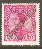 PORTUGAL    Scott  # 174*  VF MINT HINGED---THIN - 1910 : D.Manuel II