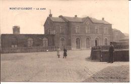 MONT-ST-GUIBERT  LA GARE CACHET OTTIGNIES FELDPOST 1915 Re 218 - Mont-Saint-Guibert