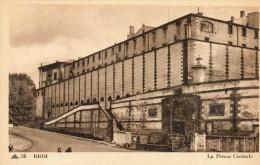 CPA- RIOM (63) - La Prison Centrale - Riom