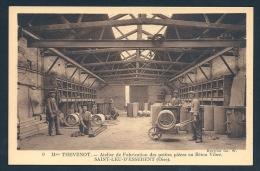 *** Sablières De St Leu D´ Esserent - Intérieur Usine Animé - Fabrique Petites Pièces Béton ! *** - Industrie