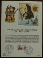FDC Sur Document - YT N°2250 - DECOUVERTE DE LA LOUISIANE / CAVELIER DE LA SALLE - 1982 - FDC