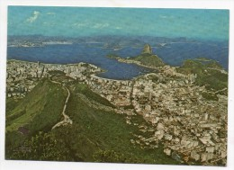 Rio De Janeiro - Panorama - Mirante Dona Marta E Pao De Açucar - Brasil - Brésil - Rio De Janeiro