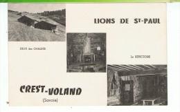 CPA-73-CREST-VOLAND-LIONS DE St-PAUL-COLONIE DE VACANCES DES LIONS DE St-PAUL-CREST-VOLAND- - Francia