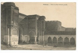 Meknès (Maroc) - Porte Du Dar Makzen - Meknès